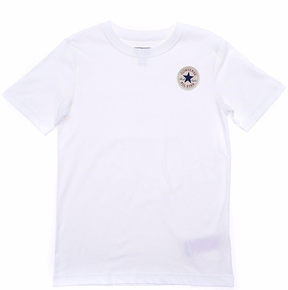 51345d6b1 BuyInvite   Converse Cotton Chuck Left Chest Logo Short Sleeve T ...