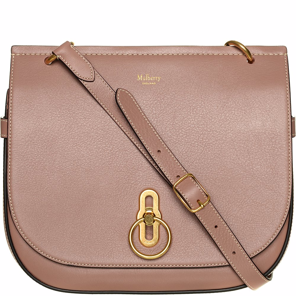 be2efa1cfad53 Preview with Zoom. Mulberry. Handbag Amberley Satchel Silky Calf