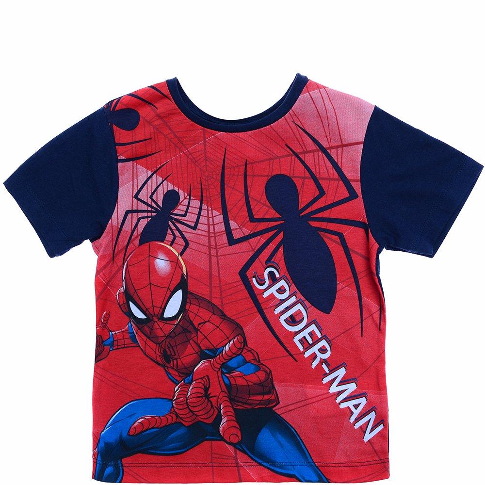 d9da2b131 SINGSALE   Spiderman T-Shirt with Full Spiderman Print