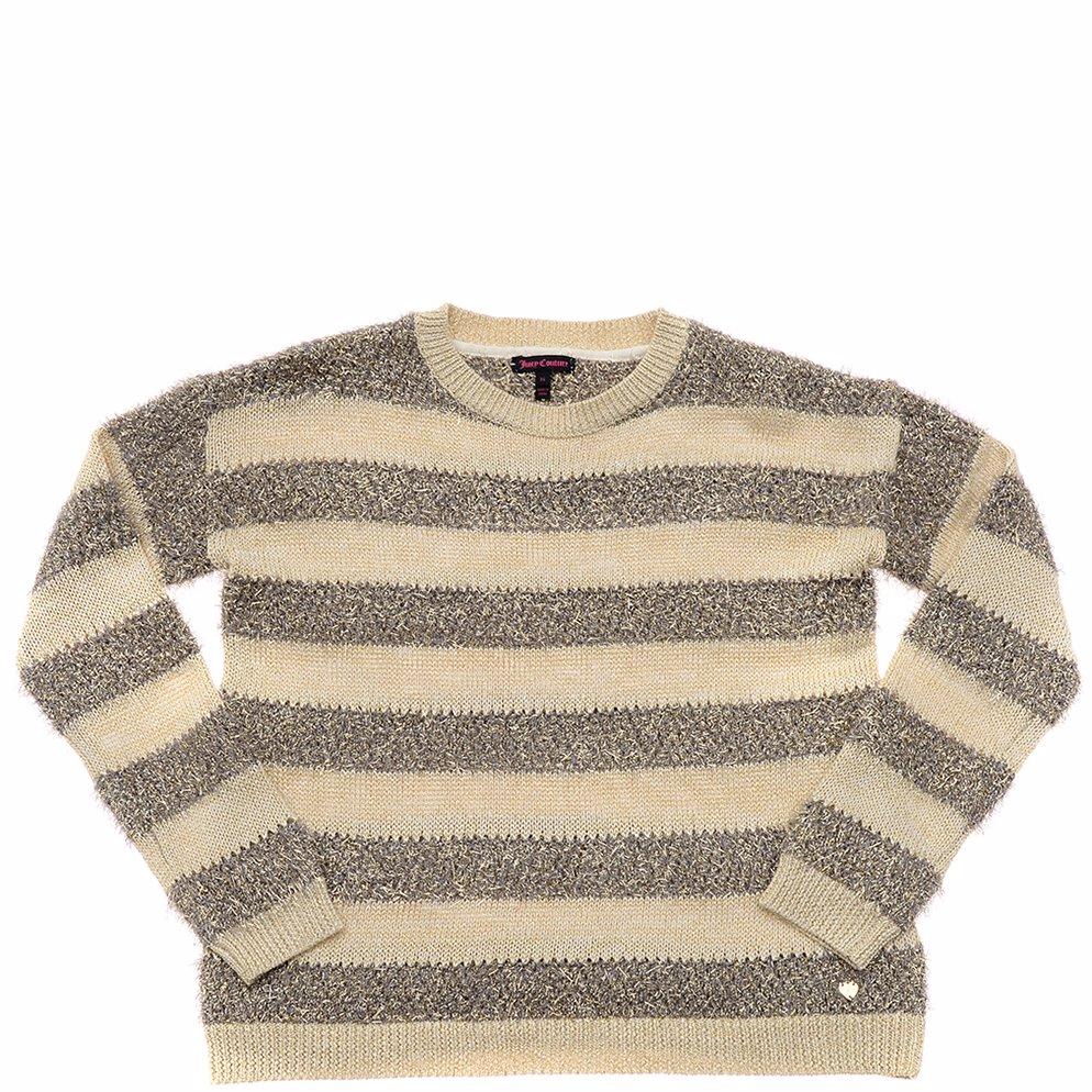 e8ee50b00fd3 BuyInvite   Juicy Couture Girls Metallic Stripe Pullover