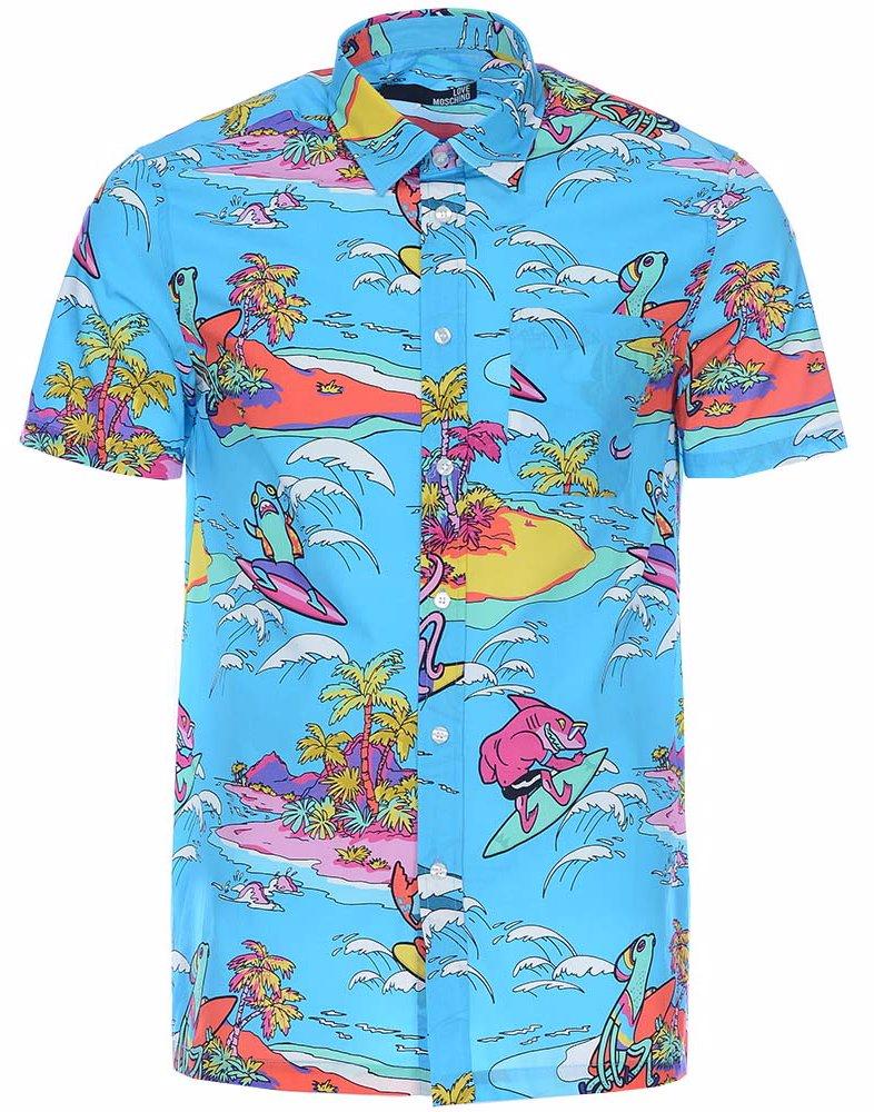 0001e1a939 BuyInvite | Love Moschino Shortsleeved Shirt With Pocket