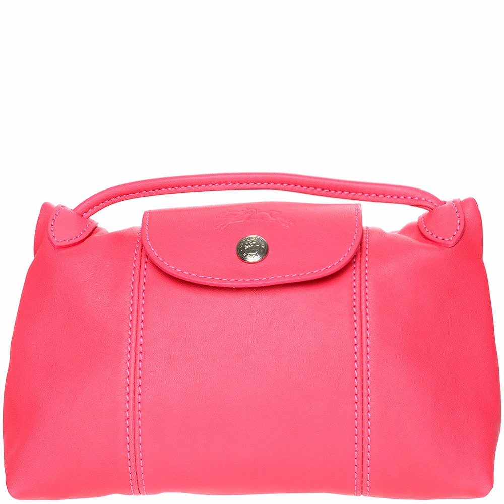 d88c303df84a Preview with Zoom. Longchamp. Le Pliage Cuir Crossbody Bag Pink