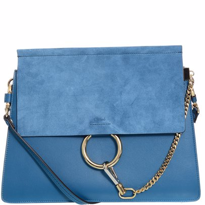 cf084fd6 Faye Medium Shoulder Bag Vinyl Blue
