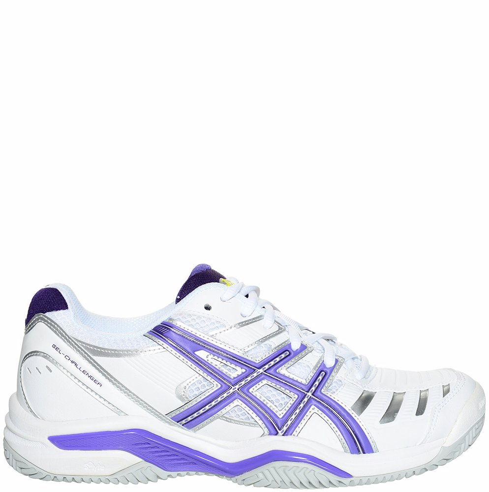 meilleure sélection 849d8 31df1 OZSALE | Asics Womens Gel Challenger 9 Clay Sneakers White