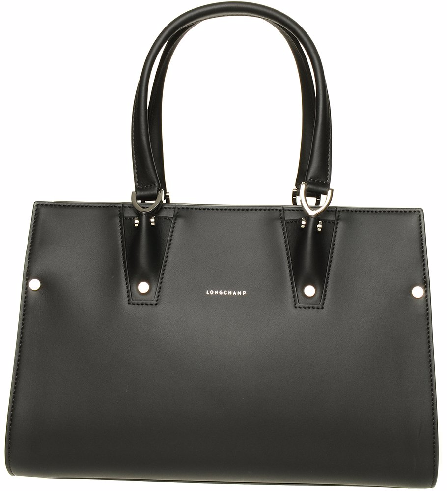 003c107305 Preview with Zoom. Longchamp. Paris Premier Tote Bag Small Black