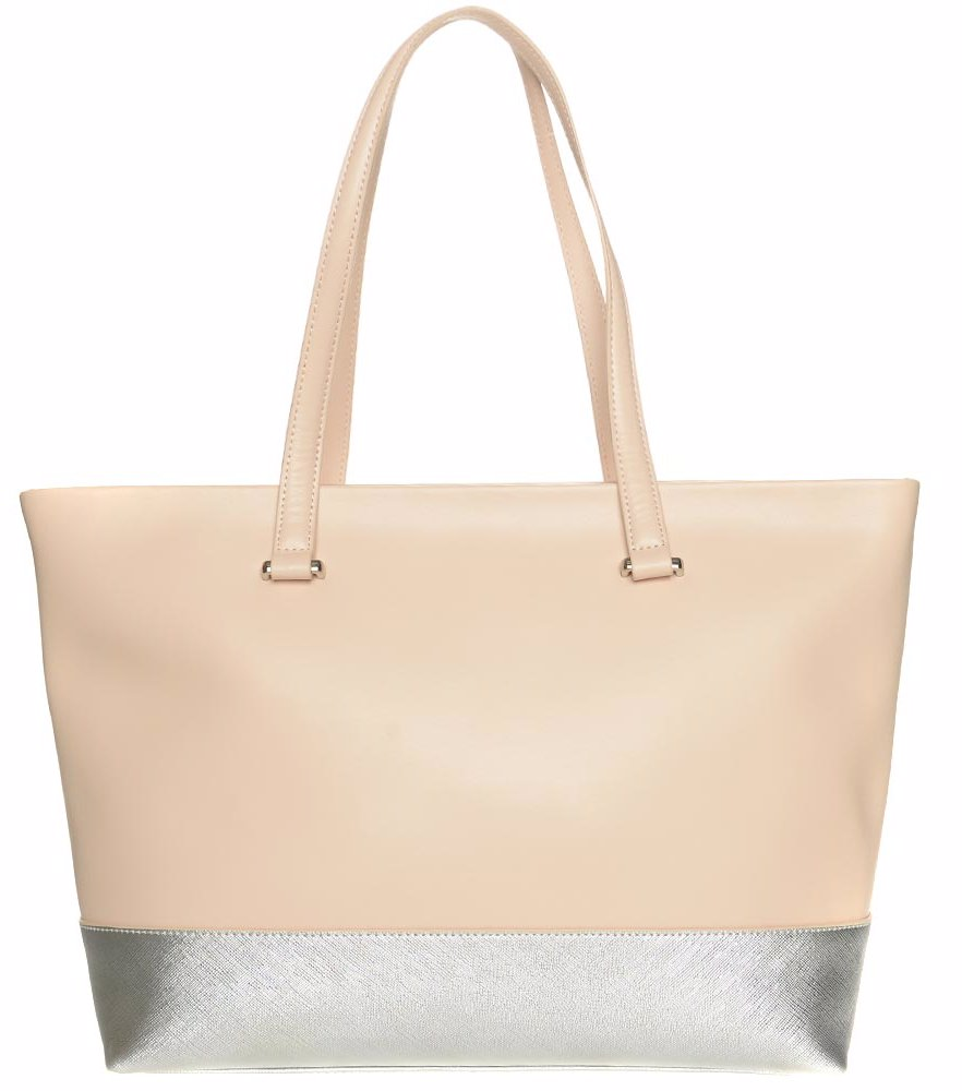 los angeles 97aa5 d6d91 SINGSALE | Cavalli Class Leather Roxanne Shopping Bag