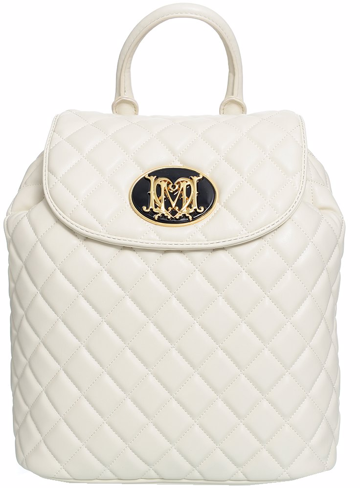 cd330c4e9 BuyInvite | Love Moschino Quilted Backpack in Ivory
