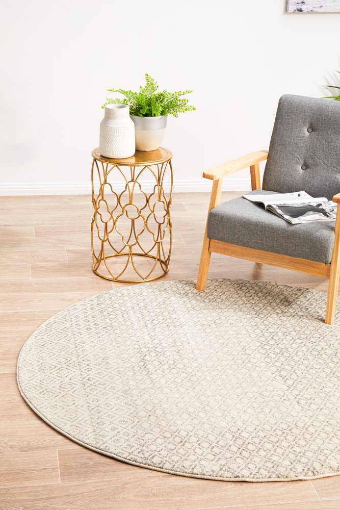 Transitional Rugs Tribale Round Rug