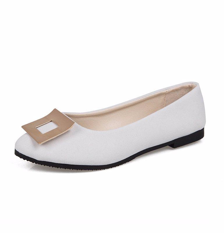 2d9d998129c4 BuyInvite | Boots & Flat Envy White Womens Flats