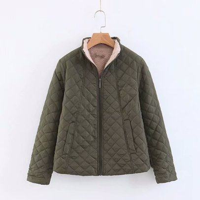 15f4ee8910019 BuyInvite   Stylish Look Armygreen Womens Coat