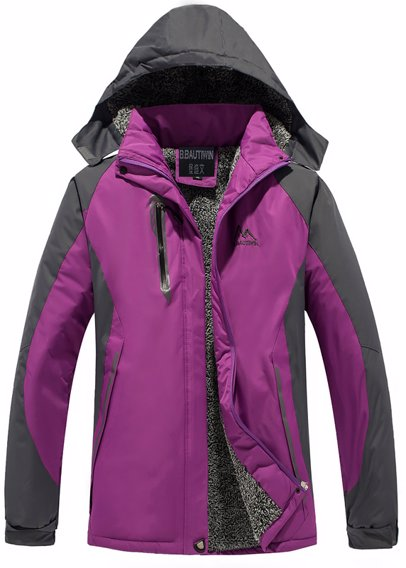 c43035abd5927 BuyInvite | Wind & Waterproof Jackets & More Purple Women's ...