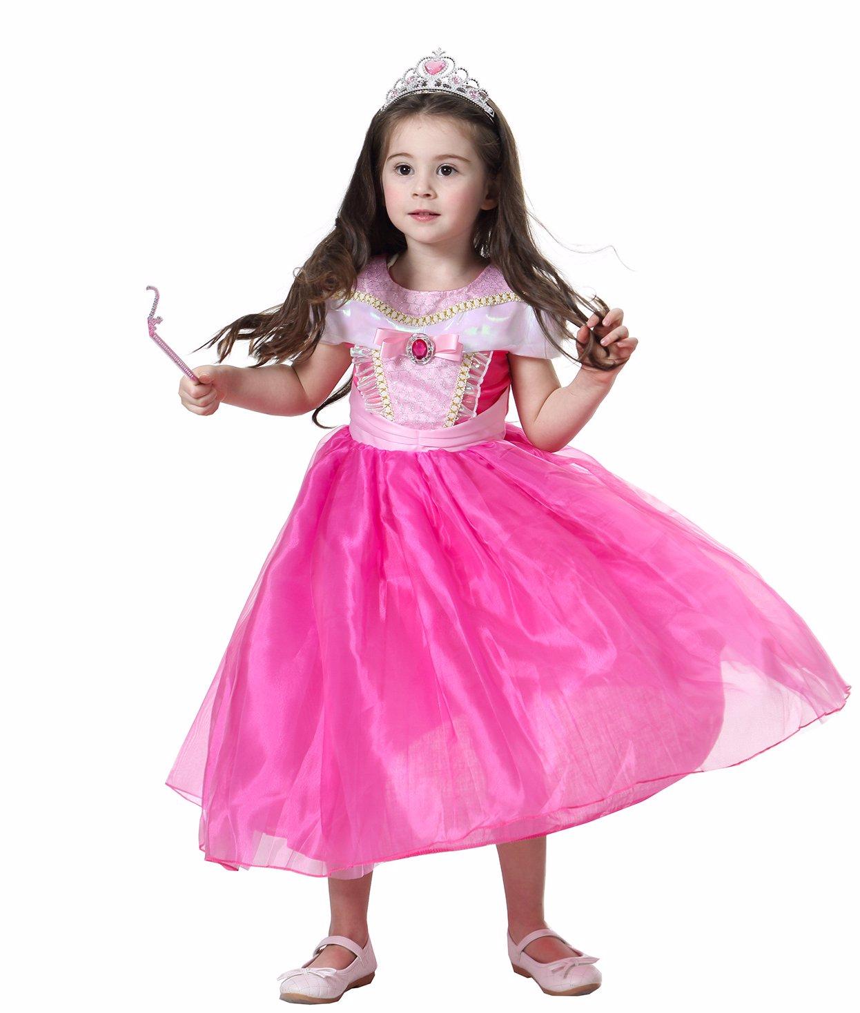 8d2953ca8fb3b BuyInvite   Children's Costume DressUp Rose Girl's Dress
