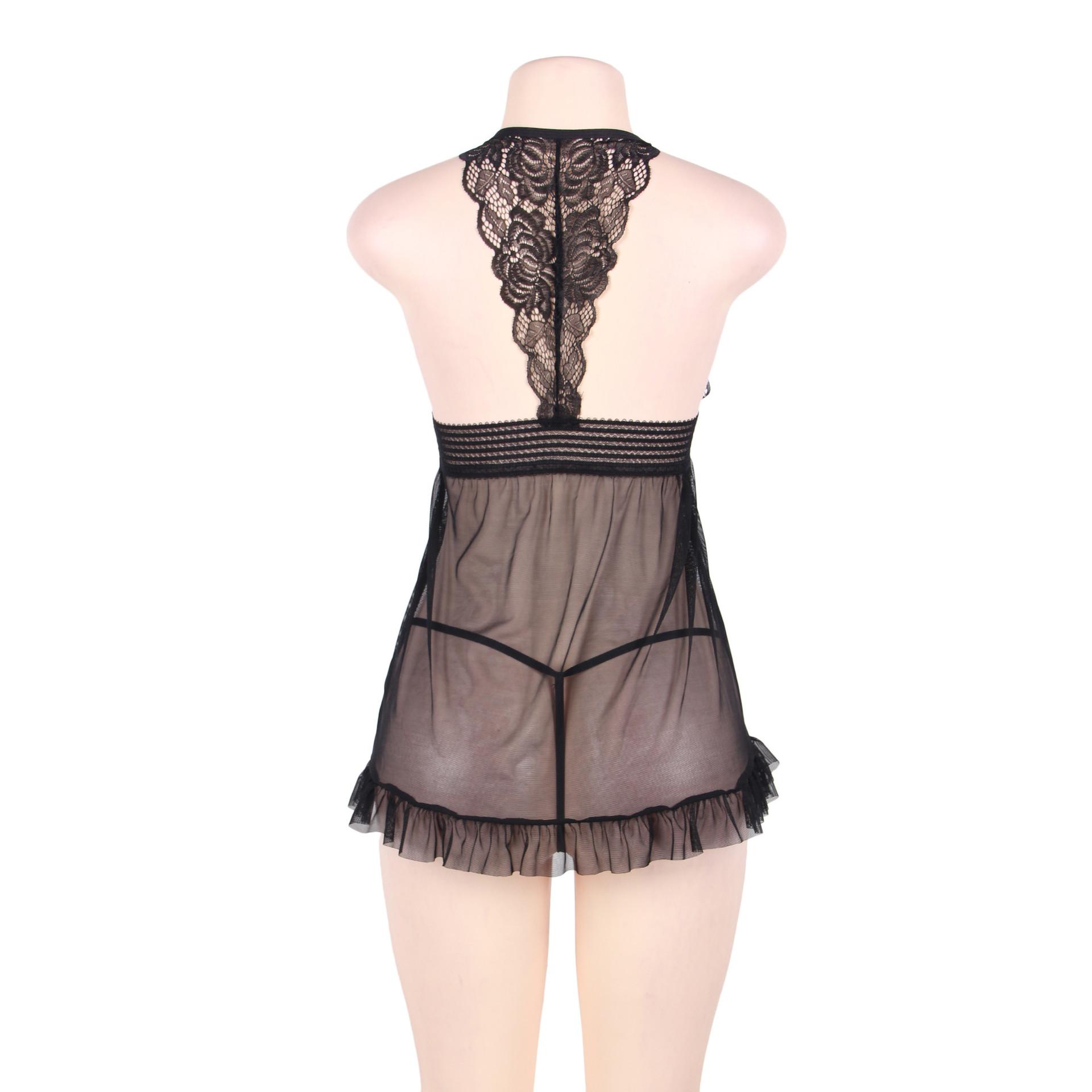 Women's Clothing Audacious Seven Til Midnight Flashy Cage Seamless Dress Black
