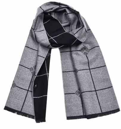 83cbd3863 BuyInvite | Winter Ready Accessories Gray Men Scarves