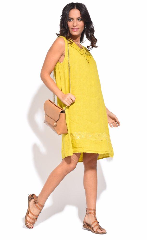 Marlene Dress Yellow