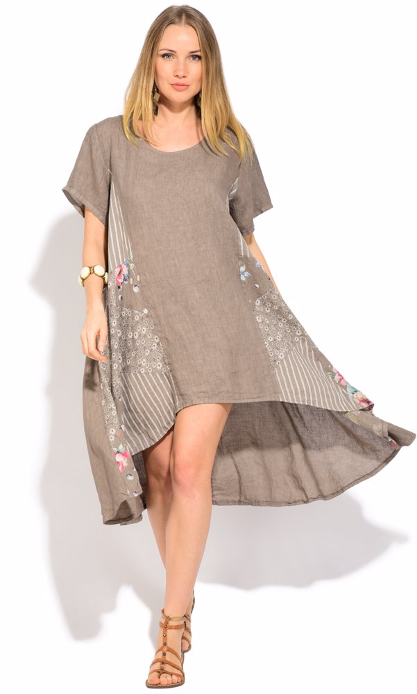 Www.ozsale.com.au U2014 Couleur Lin Linen Chantal Dress Beige