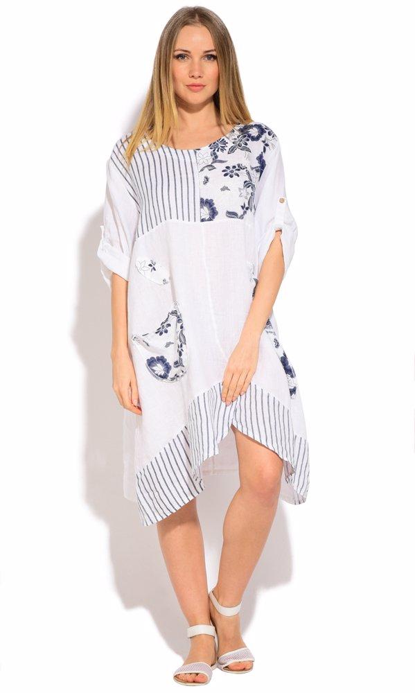 OZSALE   Couleur Lin Linen Anya Dress White