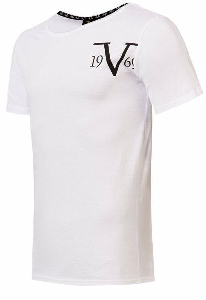 d147c6bd MYSALE | Versace 1969 Abbigliamento Sportivo SRL Milano Cotton T-Shirt White