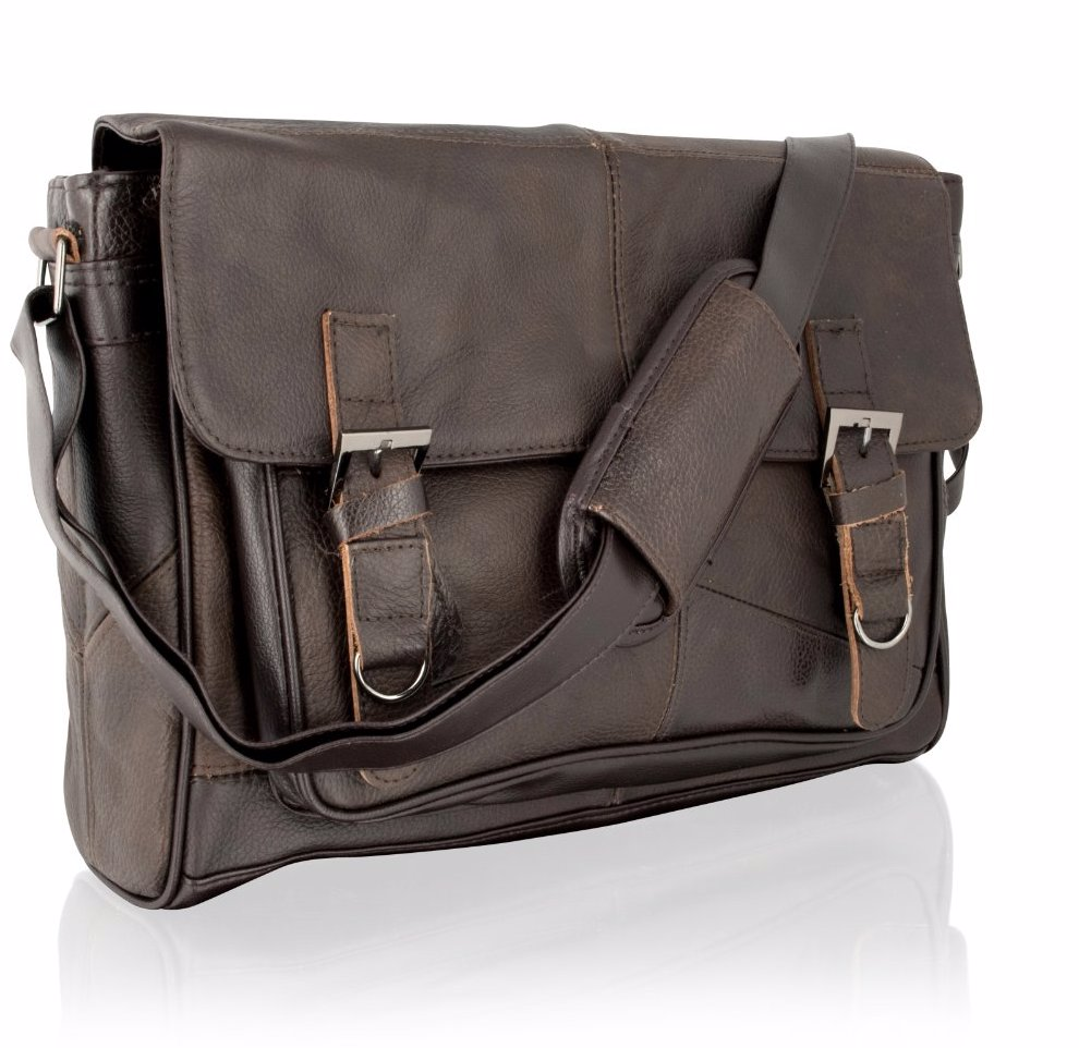 This Product Is Not Available Preview With Zoom Woodland Leather Messenger Bag Brown