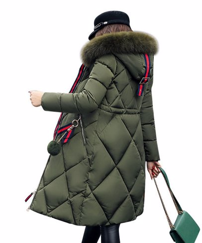 7bf43f504 BuyInvite | Coats & Jackets Women Knee-Length Faux-Fur Hood Coat
