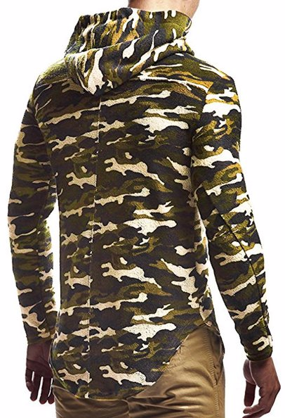 4c16d3fbc BuyInvite | Menswear Essenatials Mens Casual Hooded Pullover Sweater Hoodie