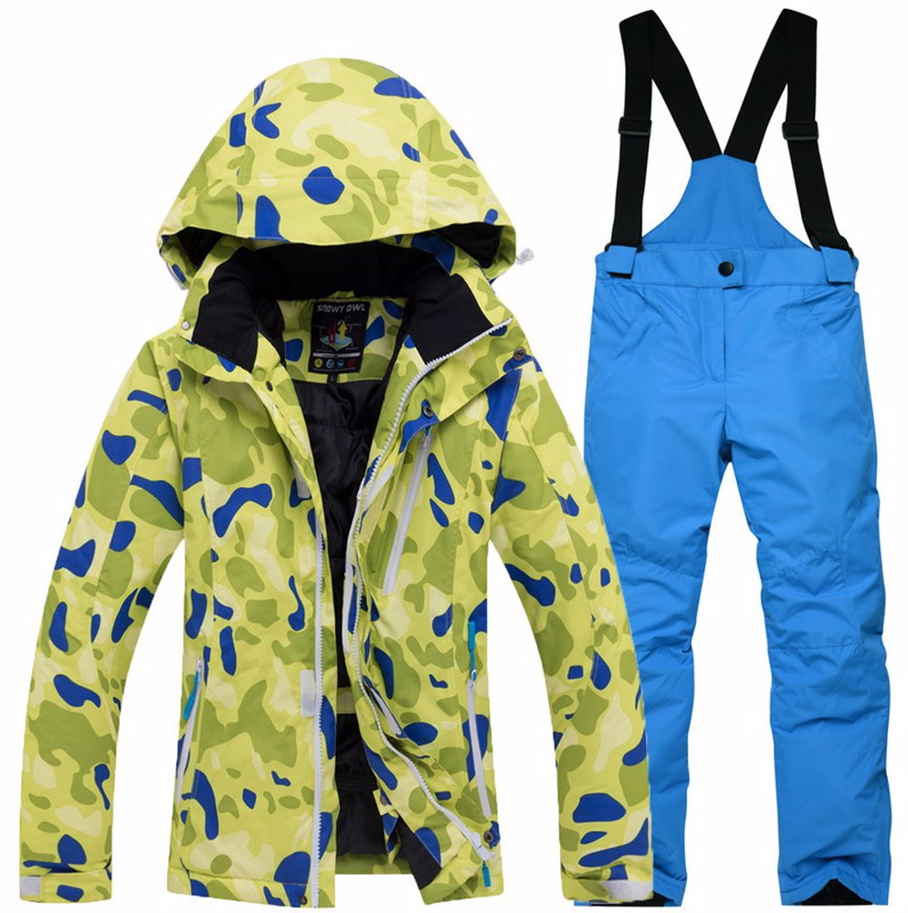 23af76998 BuyInvite | Ski Apparal For The Family Boys Waterproof Hooded Ski ...
