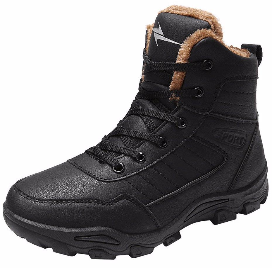 fea5de56f19 Outdoor Fur Lined Snow Boots