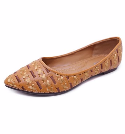155fb021b BuyInvite   Shoe Extravaganza Womens Shallow Mouth Bohemian Flat ...