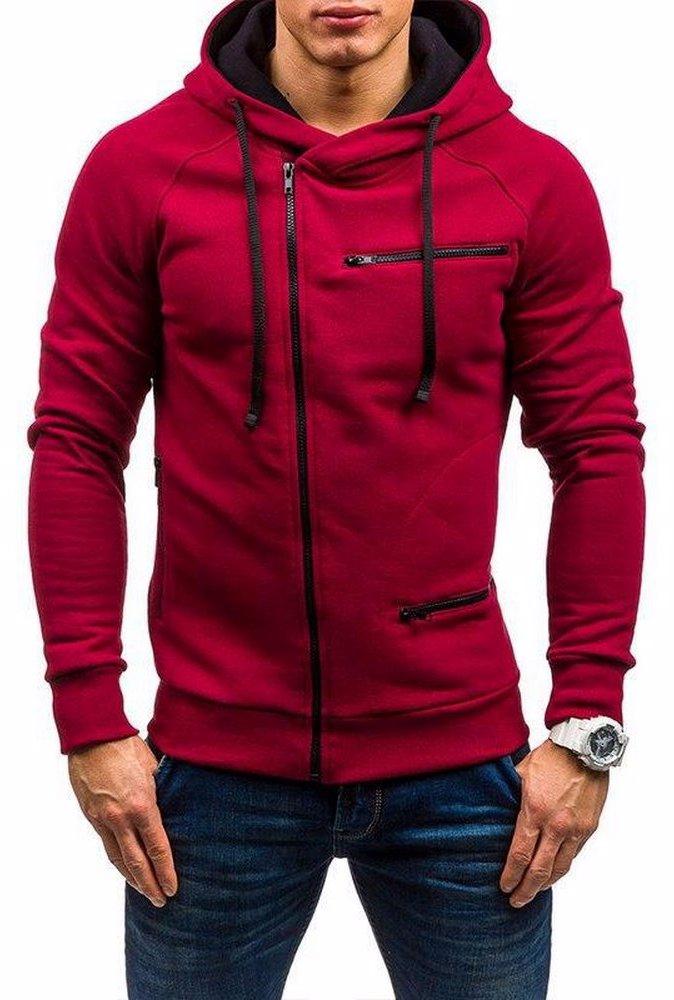 846a91565 BuyInvite | Menswear Essenatials Mens Autumn Winter Hooded Pullover ...