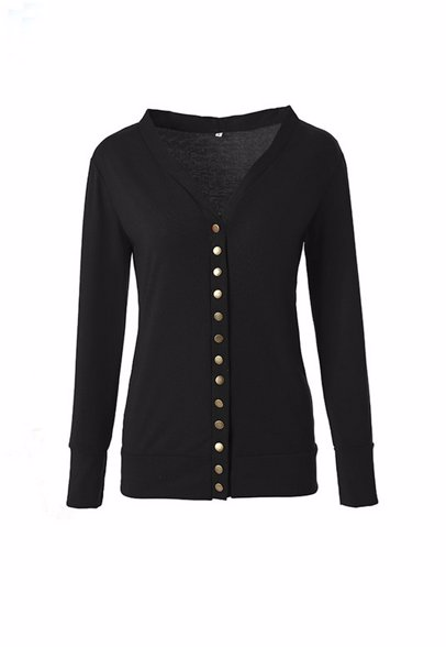 b8afd597 BuyInvite | Winter Knits Womens Long Sleeve Knit Solid Color Cardigan  Sweaters
