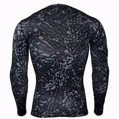 14e7988497b9e Mens Compression Shirts Baselayer Crewneck Long-Sleeve Dry Fit T-Shirts
