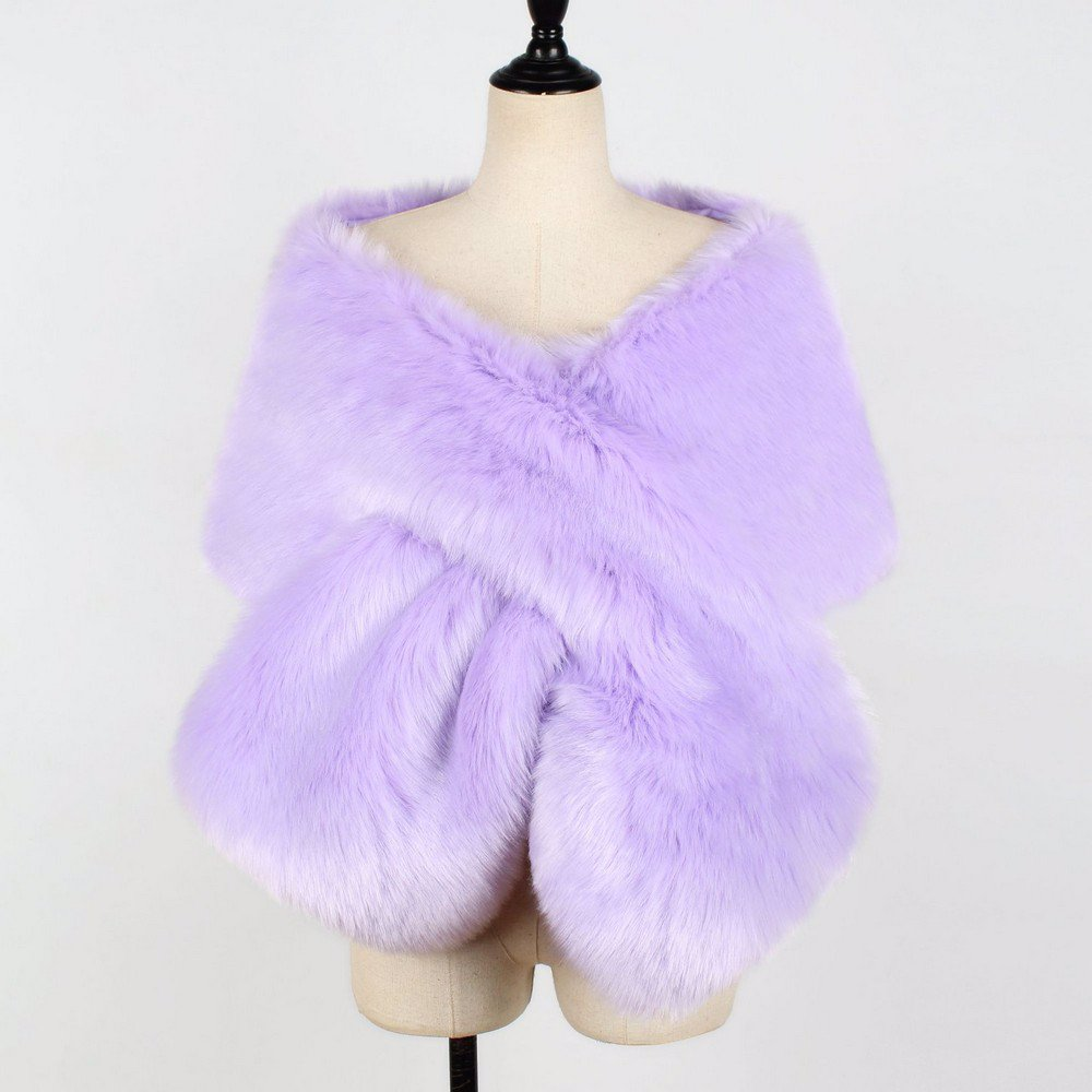 9563e4596 BuyInvite | On-trend Faux Fur Jackets Womens Bridal Wedding Faux Fur ...