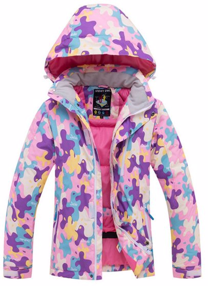 87cfd19aa BuyInvite | Ski Apparal For The Family Girls Waterproof Hooded Ski ...
