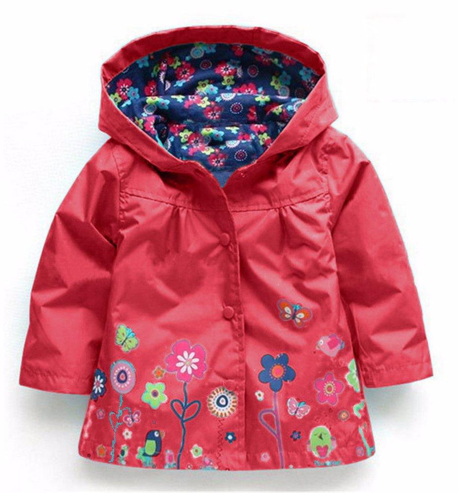 63929d196 BuyInvite | Kids Winter Coats Girls Waterproof Hooded Coat Raincoat