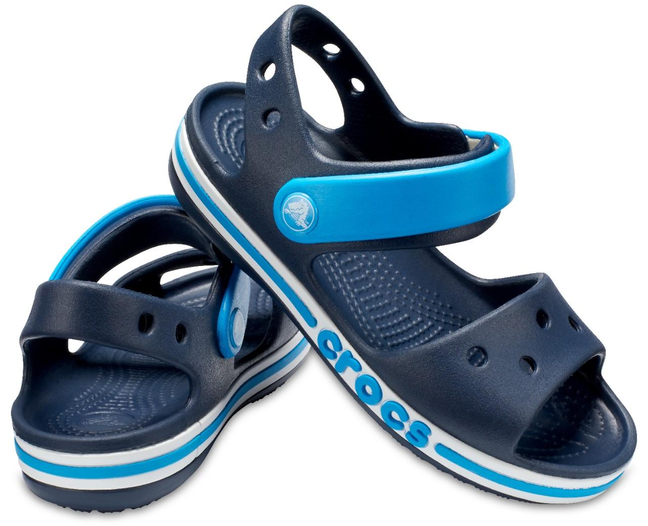 SINGSALE | Crocs Kids Bayaband Sandal