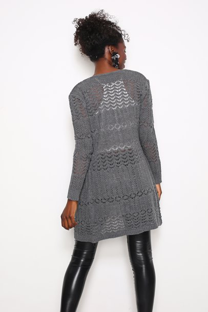 f0eecbbd3 BuyInvite | MISELL Womens Anthracite Cardigan