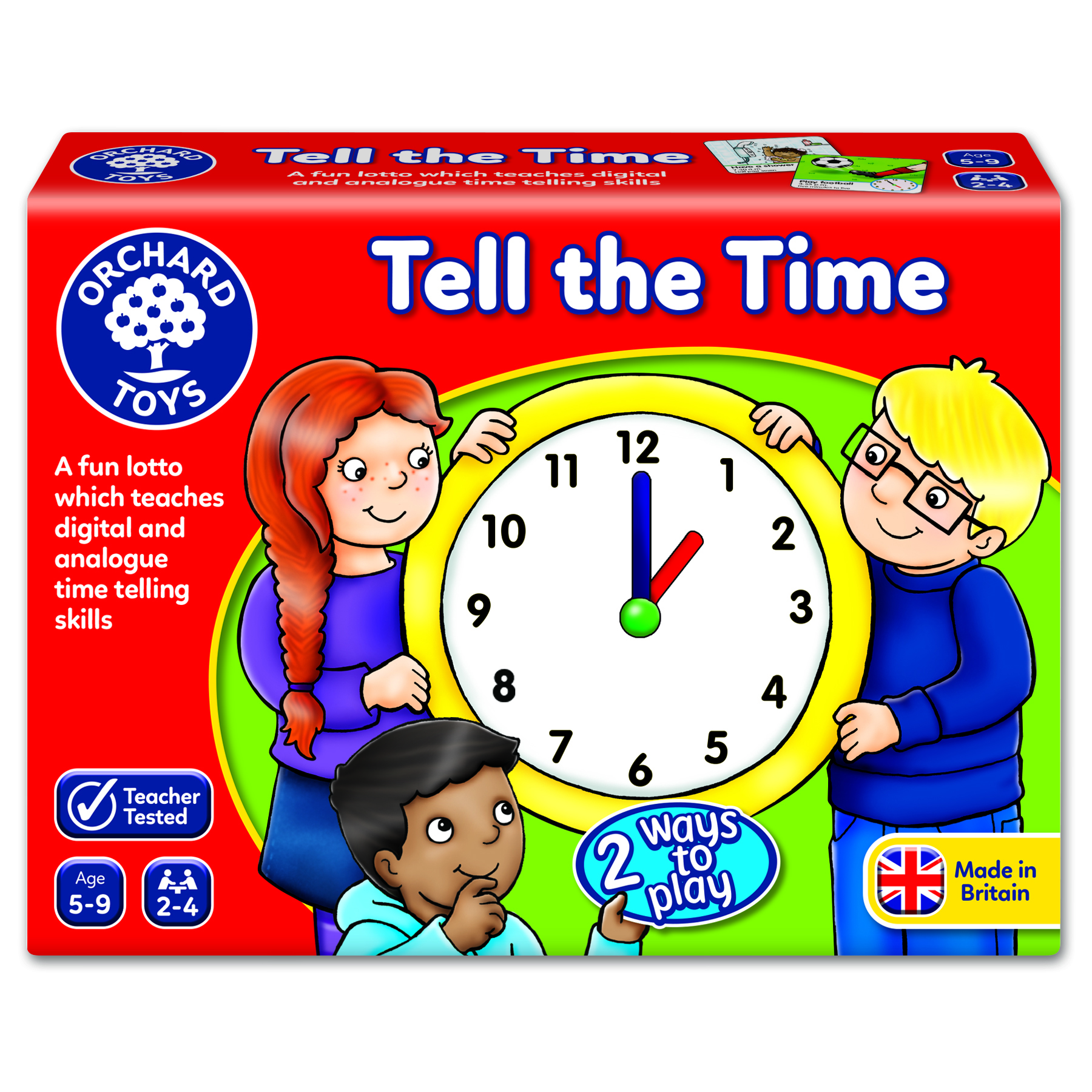 Orchard Game - Tell the Time