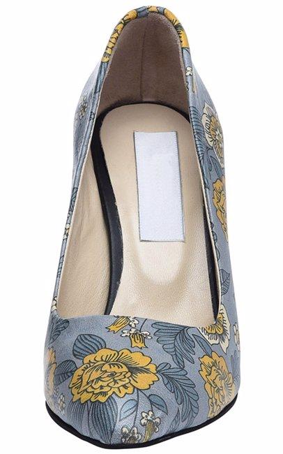 fe445334e4b Leather Short Heel Stiletto 8 Cm