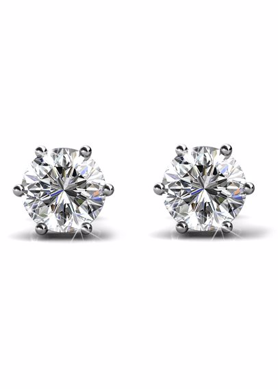 7c520c6e4345b Trinity Earrings Set - Embellished with Crystals from Swarovski