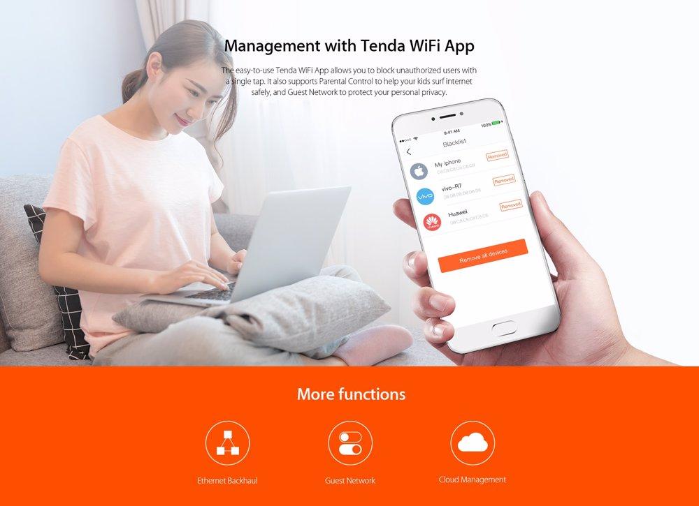 NZSALE | Tenda Nova MW3 AC1200 Whole Home Mesh Wifi Router 3