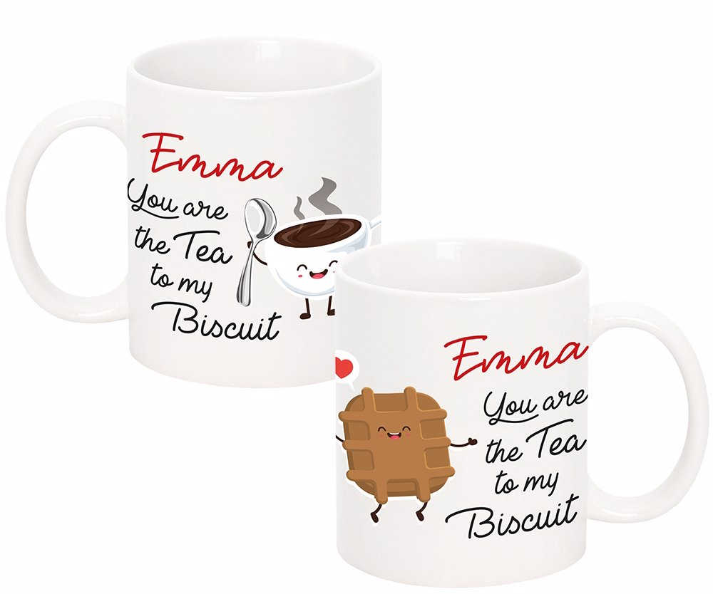 You Are The Tea To My Biscuit Ceramic Mug