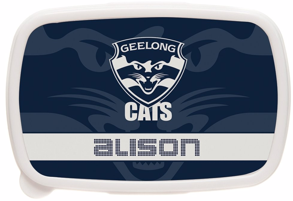 Identitydirect Afl Afl Geelong Cats Lunch Box