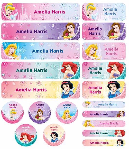 princesses names from disney