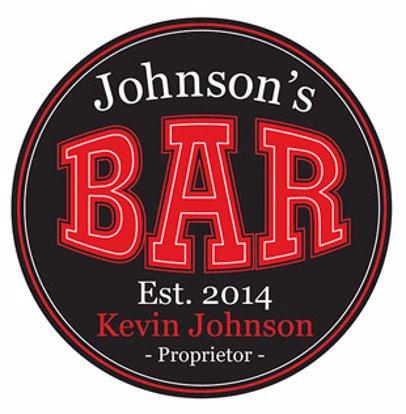 8d75b75740 BuyInvite | Personalised Bar Accessories Personalised Proprietor Coasters