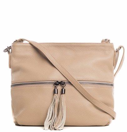 d9715ef4e BuyInvite | Lucca Baldi Shoulder Bag Taupe Winter