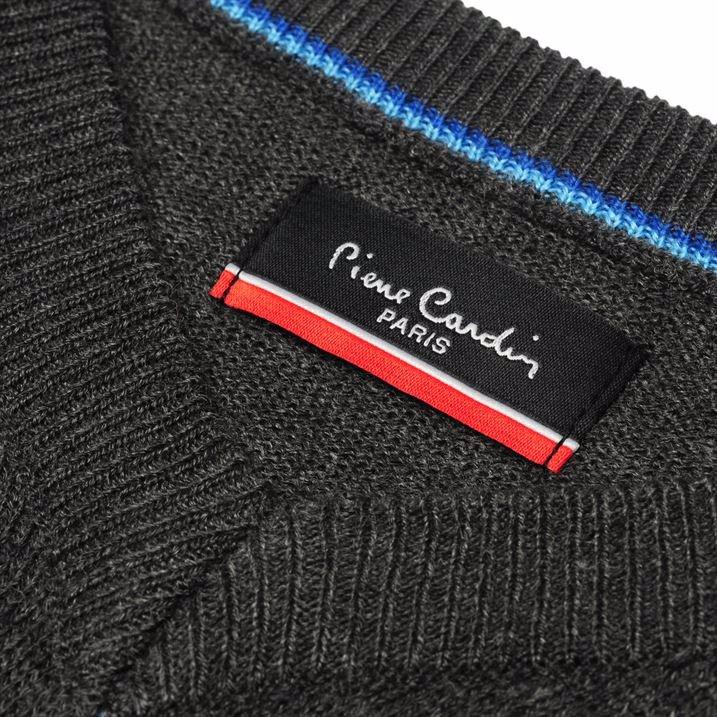 591ee21a0cc BuyInvite | Pierre Cardin V Neck Knit Jumper Mens