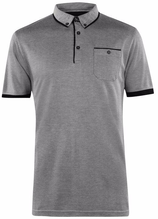 94809691236585 Pierre Cardin Pocket Pique Polo Shirt Mens