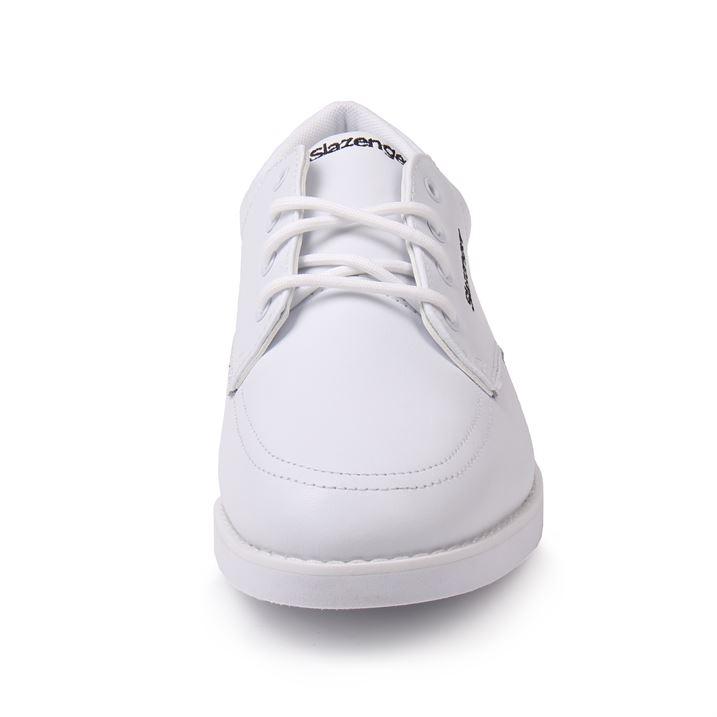 Slazenger Women Ladies Bowls Shoes White