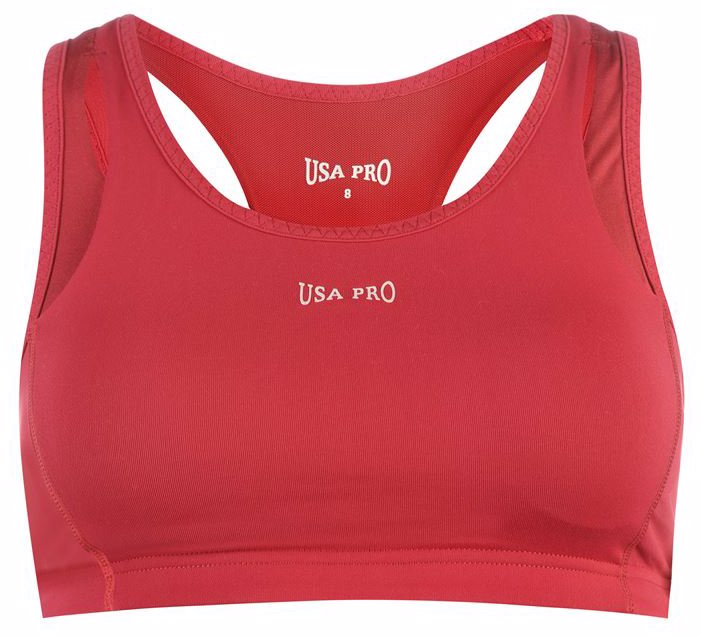 ac7a9f0744665 SINGSALE | USA Pro Pro Medium Sports Bra