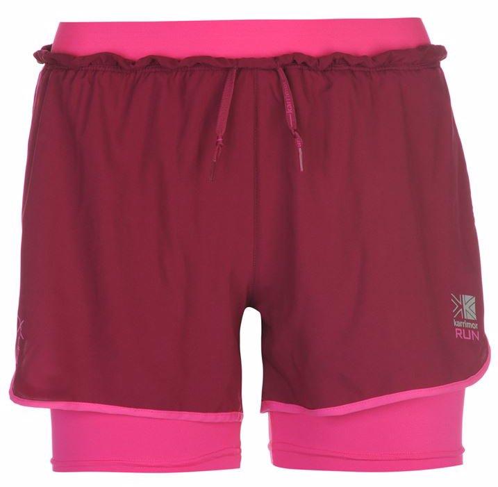 b2a0ac848 X 2 in 1 Running Shorts Ladies